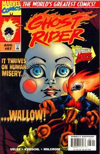 Cover Thumbnail for Ghost Rider (Marvel, 1990 series) #87
