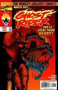 Cover Thumbnail for Ghost Rider (Marvel, 1990 series) #91
