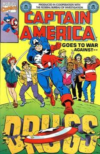 Cover Thumbnail for Captain America Goes to War Against Drugs (Marvel, 1990 series) #1