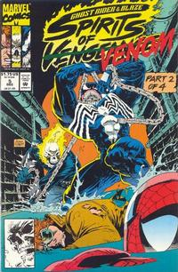 Cover Thumbnail for Ghost Rider / Blaze: Spirits of Vengeance (Marvel, 1992 series) #5 [Direct Edition]