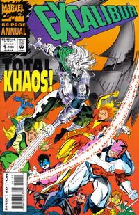 Cover Thumbnail for Excalibur Annual (Marvel, 1993 series) #1 [Direct Edition]