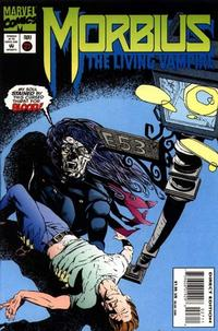 Cover for Morbius: The Living Vampire (Marvel, 1992 series) #27