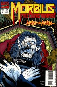 Cover for Morbius: The Living Vampire (Marvel, 1992 series) #29