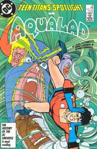 Cover Thumbnail for Teen Titans Spotlight (DC, 1986 series) #10 [Direct Sales]