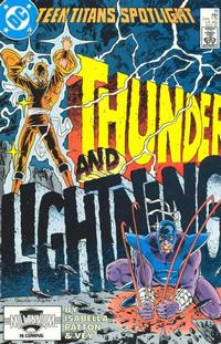 Cover Thumbnail for Teen Titans Spotlight (DC, 1986 series) #16