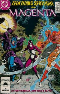 Cover for Teen Titans Spotlight (DC, 1986 series) #17 [Direct Sales]