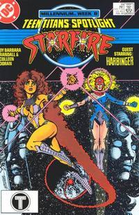 Cover Thumbnail for Teen Titans Spotlight (DC, 1986 series) #19