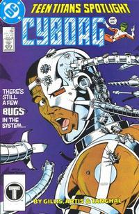 Cover for Teen Titans Spotlight (DC, 1986 series) #20