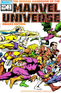 Cover Thumbnail for The Official Handbook of the Marvel Universe (Marvel, 1985 series) #1