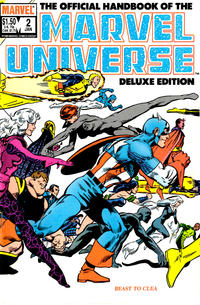 Cover Thumbnail for The Official Handbook of the Marvel Universe (Marvel, 1985 series) #2 [Direct]