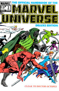 Cover Thumbnail for The Official Handbook of the Marvel Universe (Marvel, 1985 series) #3 [Direct]