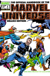 Cover Thumbnail for The Official Handbook of the Marvel Universe (Marvel, 1985 series) #4 [Direct]