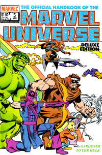 Cover Thumbnail for The Official Handbook of the Marvel Universe (Marvel, 1985 series) #5 [Direct]