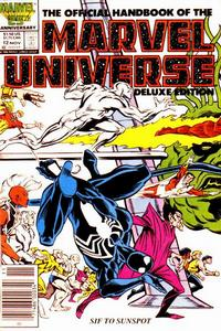 Cover Thumbnail for The Official Handbook of the Marvel Universe (Marvel, 1985 series) #12 [Newsstand]