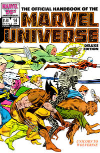 Cover Thumbnail for The Official Handbook of the Marvel Universe (Marvel, 1985 series) #14 [Direct]