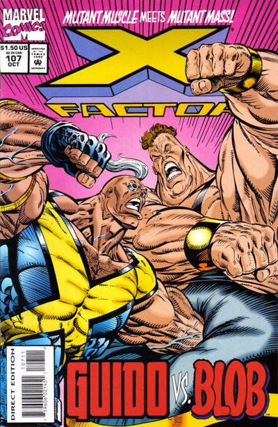 Cover for X-Factor (Marvel, 1986 series) #107 [Direct Edition]