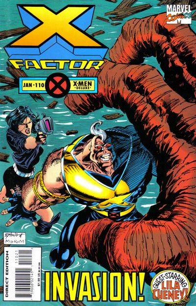 Cover for X-Factor (Marvel, 1986 series) #110 [Regular Edition]