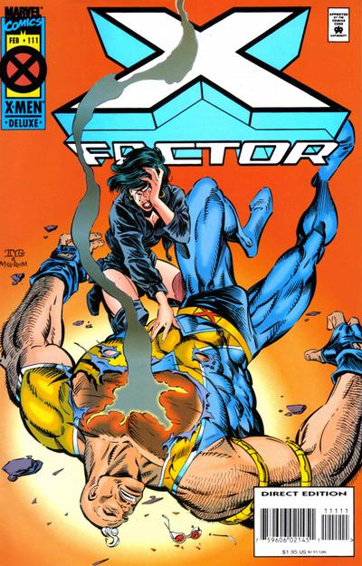 Cover for X-Factor (Marvel, 1986 series) #111 [Regular Edition]