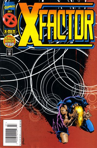 Cover for X-Factor (Marvel, 1986 series) #112 [Newsstand Edition]