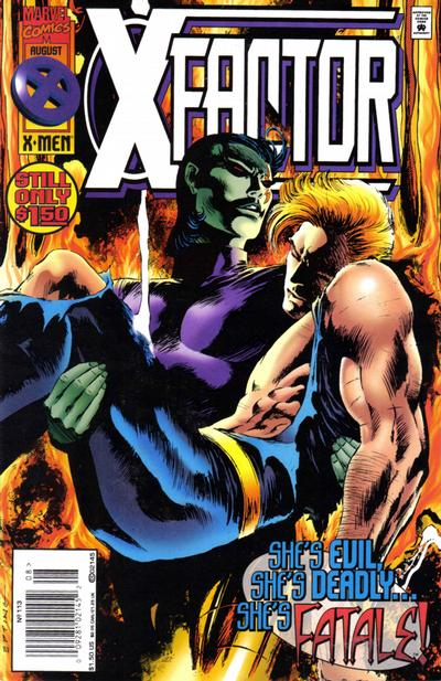 Cover for X-Factor (Marvel, 1986 series) #113 [Direct Edition]