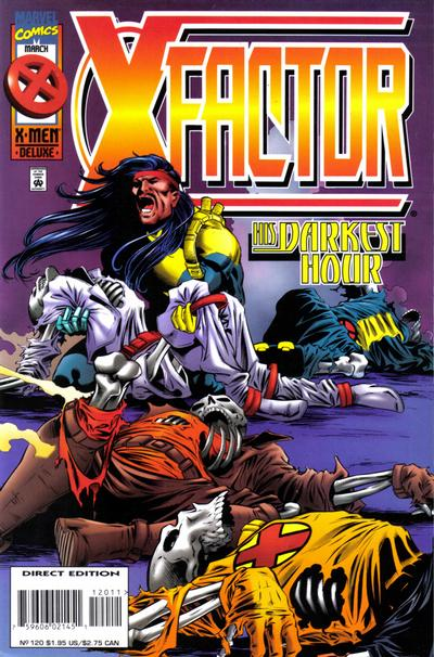 Cover for X-Factor (Marvel, 1986 series) #120 [Direct Edition]