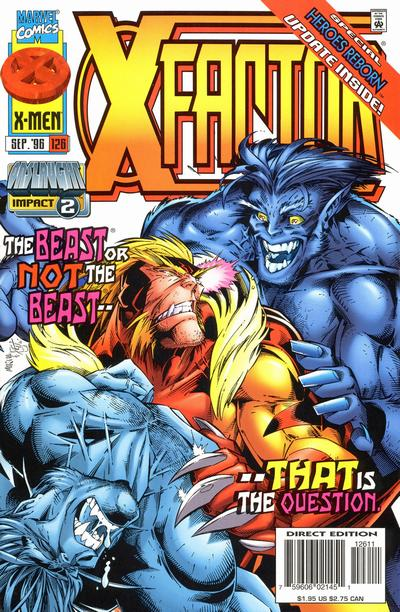 Cover for X-Factor (Marvel, 1986 series) #126 [Direct Edition]
