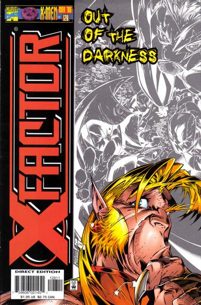 Cover for X-Factor (Marvel, 1986 series) #128 [Direct Edition]