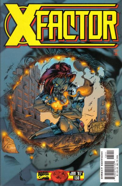 Cover for X-Factor (Marvel, 1986 series) #130 [Direct Edition]