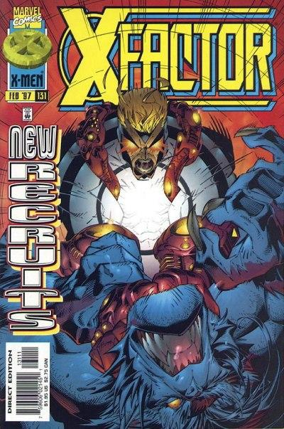Cover for X-Factor (Marvel, 1986 series) #131 [Direct Edition]