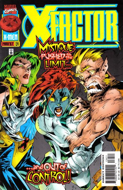 Cover for X-Factor (Marvel, 1986 series) #134 [Direct Edition]