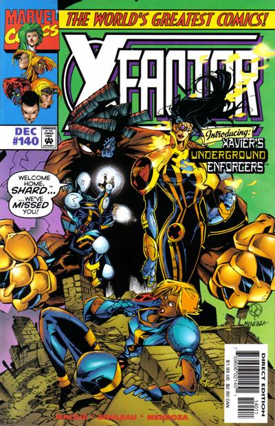 Cover for X-Factor (Marvel, 1986 series) #140 [Direct Edition]