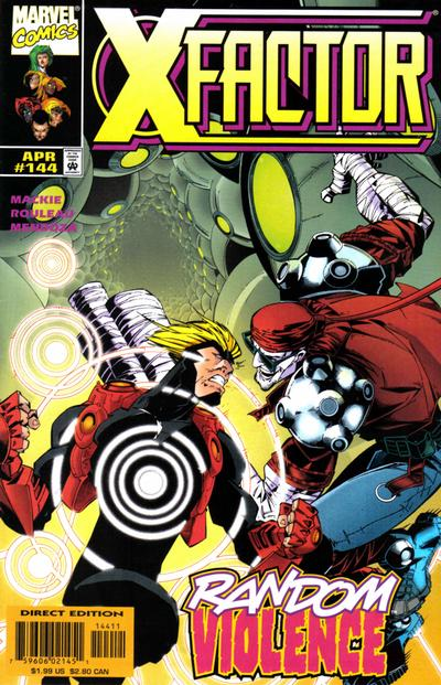 Cover for X-Factor (Marvel, 1986 series) #144 [Direct Edition]