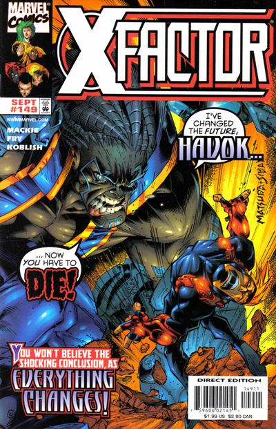 Cover for X-Factor (Marvel, 1986 series) #149 [Direct Edition]