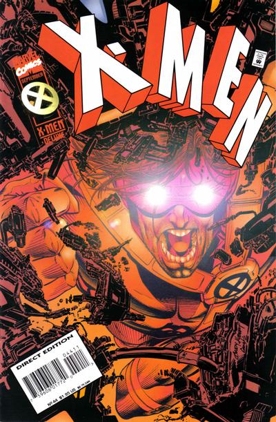 Cover for X-Men (Marvel, 1991 series) #44 [Direct Edition]