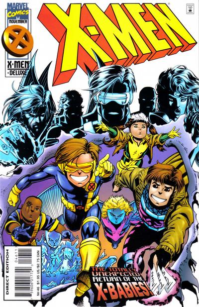 Cover for X-Men (Marvel, 1991 series) #46 [Direct Edition]
