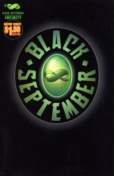 Cover for Black September (Marvel, 1995 series) #∞ [Infinity] [Lashly Cover]