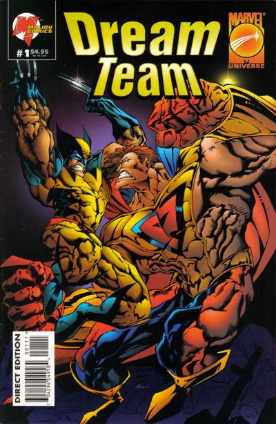 Cover for Dream Team (Marvel, 1995 series) #1
