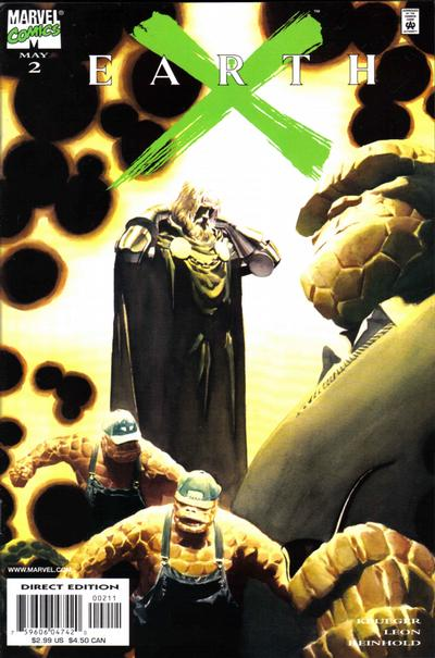 Cover for Earth X (Marvel, 1999 series) #2