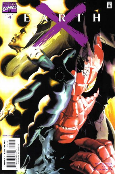 Cover for Earth X (Marvel, 1999 series) #4