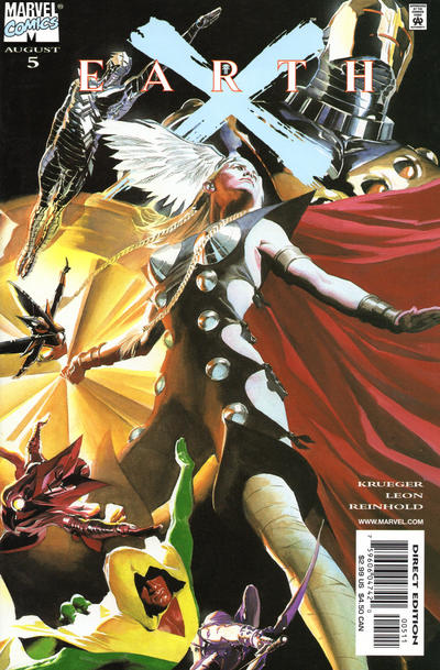 Cover for Earth X (Marvel, 1999 series) #5