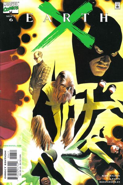 Cover for Earth X (Marvel, 1999 series) #6