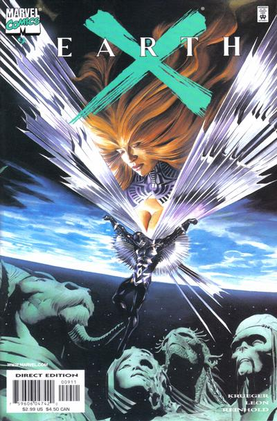 Cover for Earth X (Marvel, 1999 series) #9