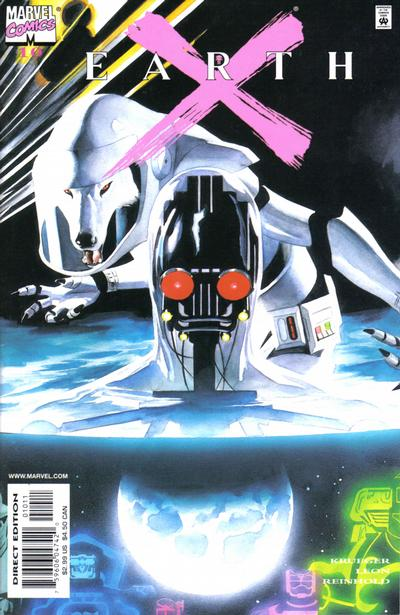 Cover for Earth X (Marvel, 1999 series) #10