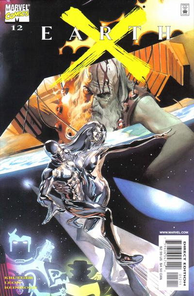Cover for Earth X (Marvel, 1999 series) #12