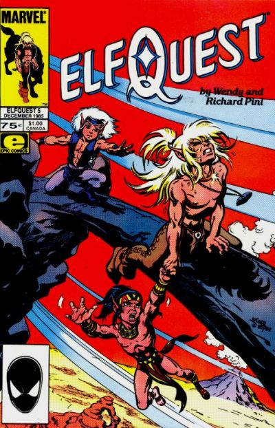 Cover for ElfQuest (Marvel, 1985 series) #5 [Canadian]