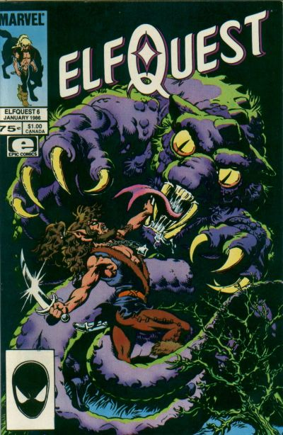 Cover for ElfQuest (Marvel, 1985 series) #6 [Canadian]