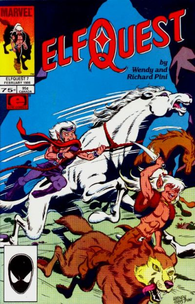 Cover for ElfQuest (Marvel, 1985 series) #7 [Canadian]