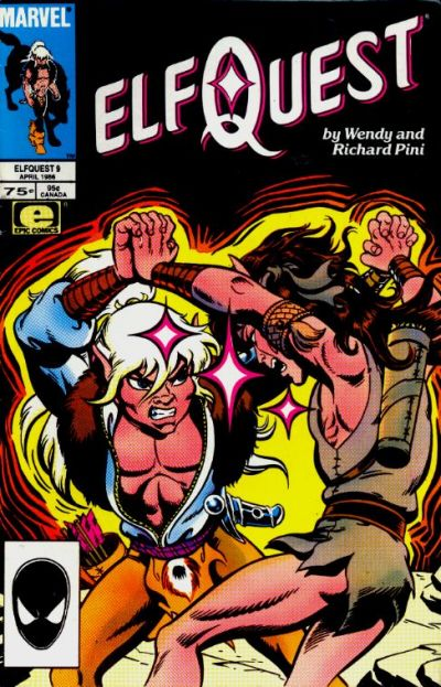 Cover for ElfQuest (Marvel, 1985 series) #9 [Direct]