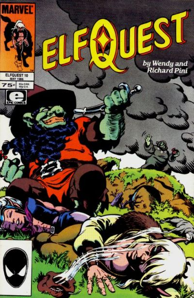 Cover for ElfQuest (Marvel, 1985 series) #10 [Canadian]