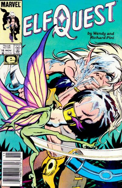 Cover for ElfQuest (Marvel, 1985 series) #16 [Direct]